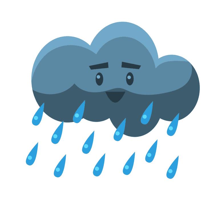 Rain clipart image