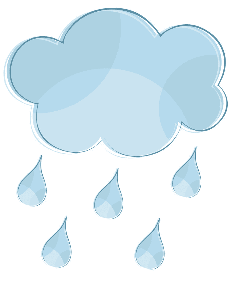 Rain clipart png for kids