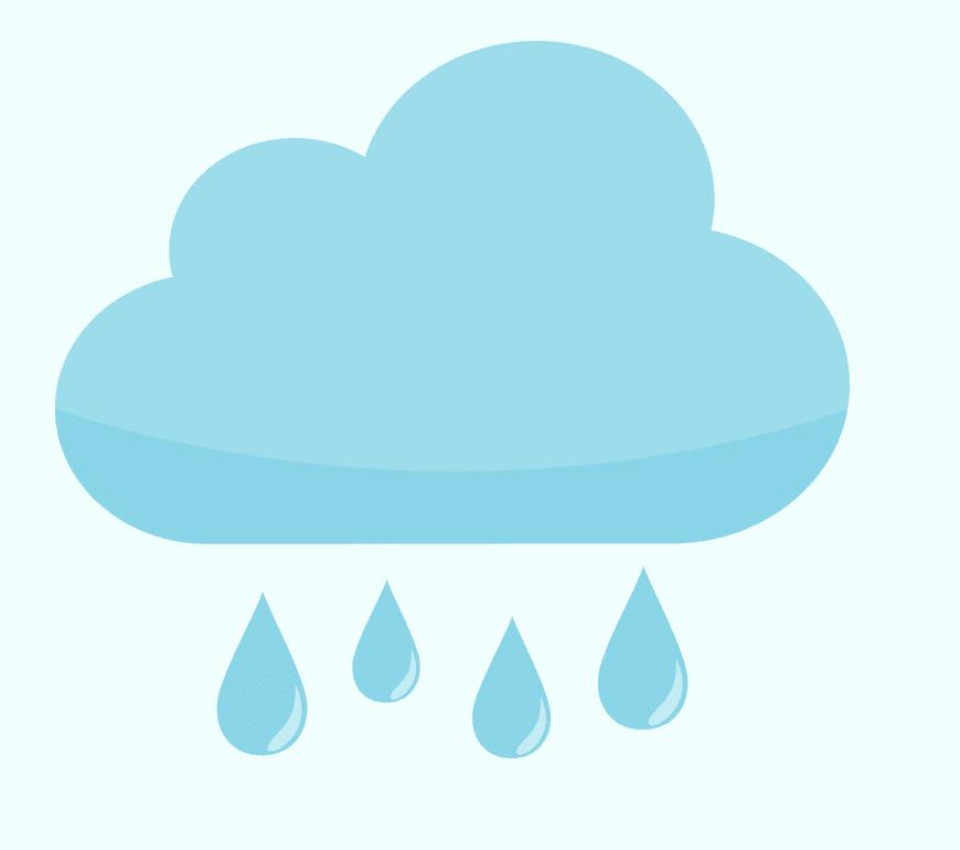 Rain clipart png image