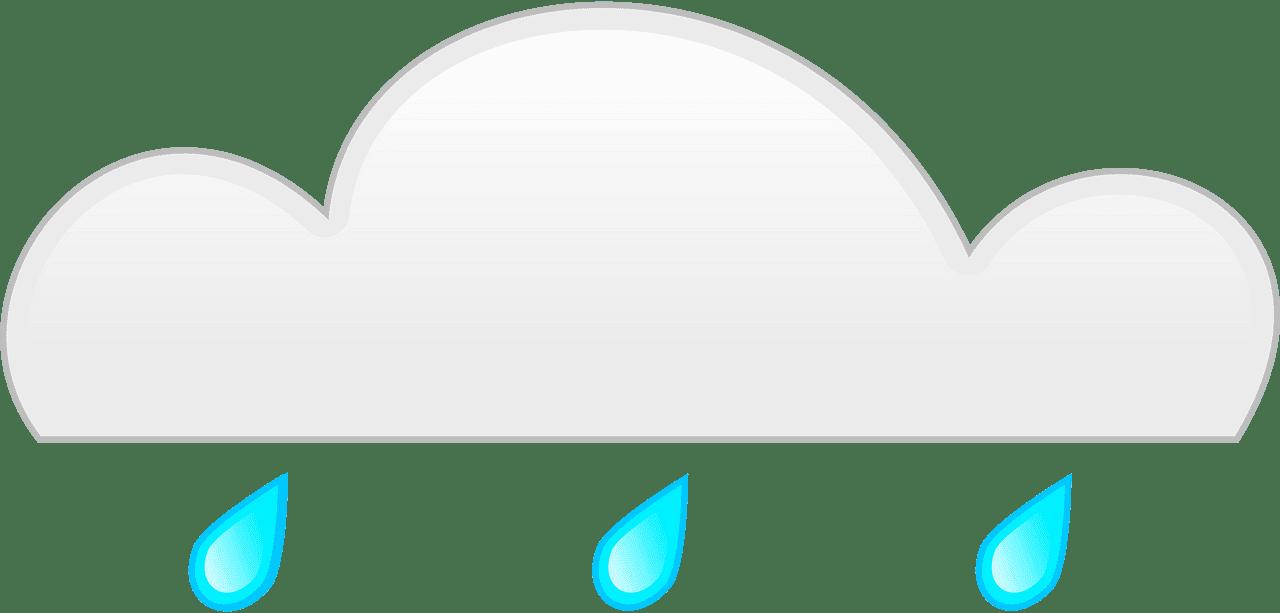 Rain clipart transparent 2