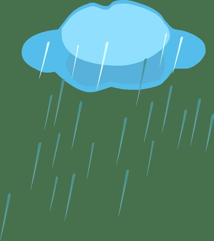 Rain clipart transparent 4