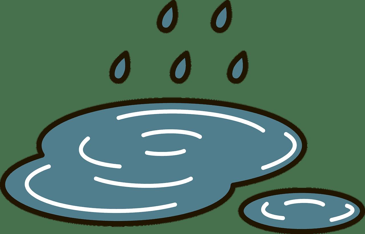 Rain clipart transparent 7