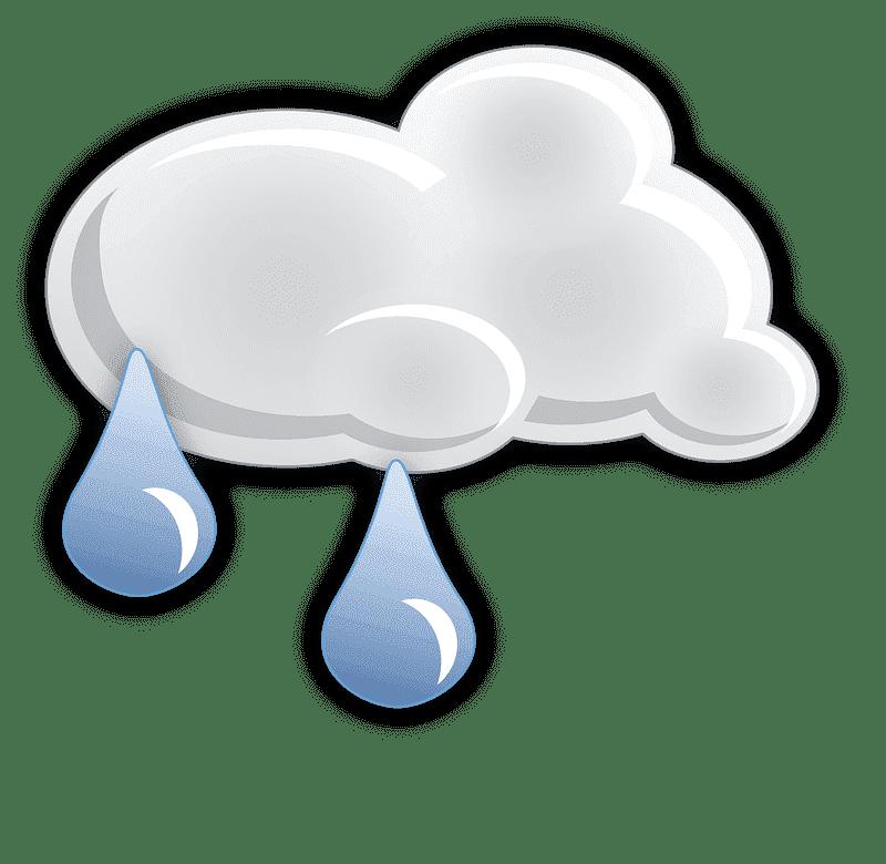 Rain clipart transparent 9