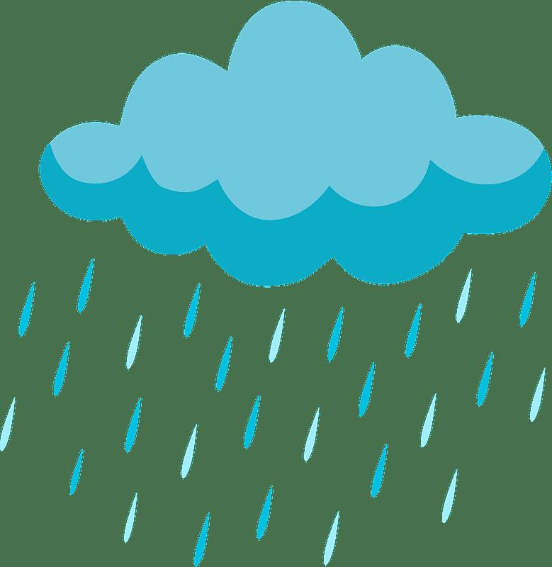 Rain clipart transparent background 1