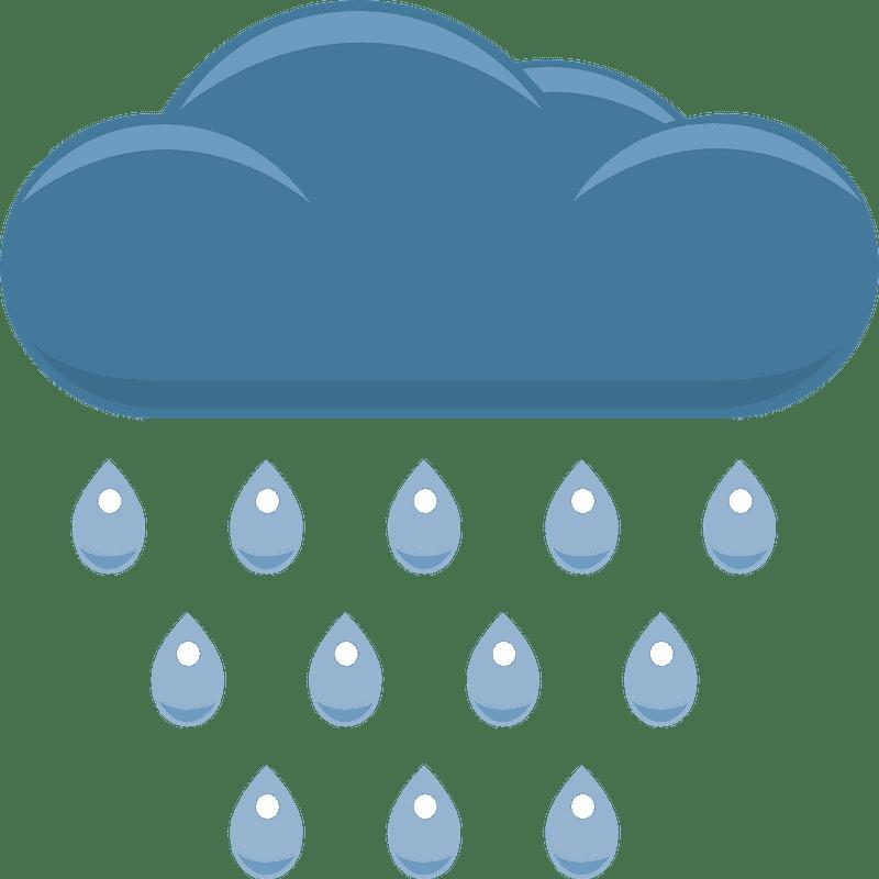 Rain clipart transparent background 2