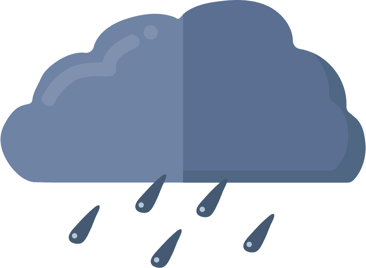 Rain clipart transparent background 3