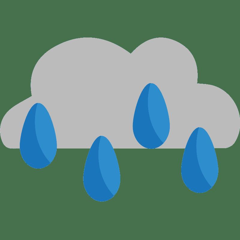 Rain clipart transparent background 9