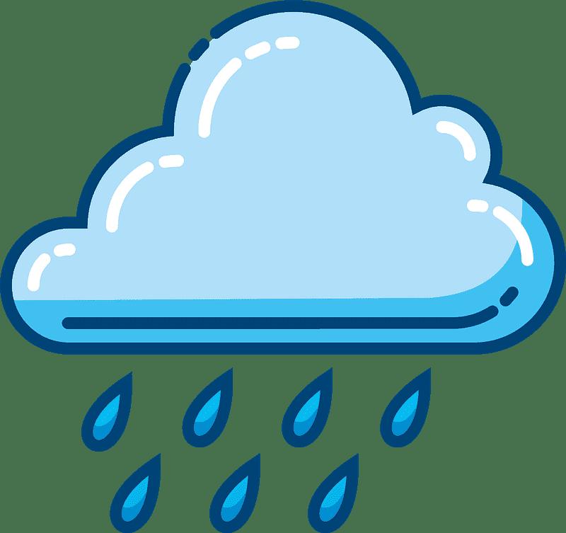 Rain clipart transparent background
