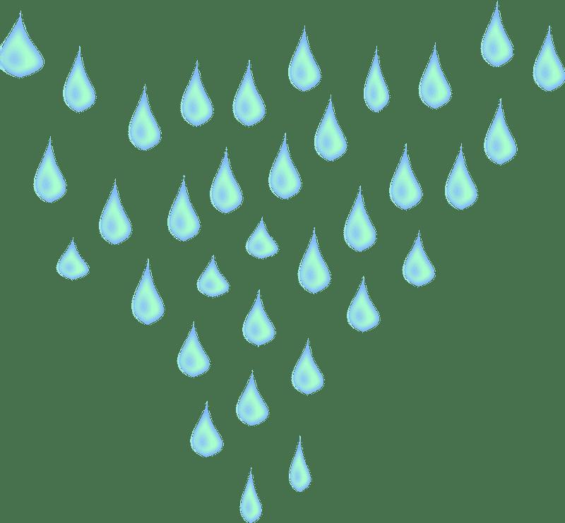 Rain clipart transparent for free