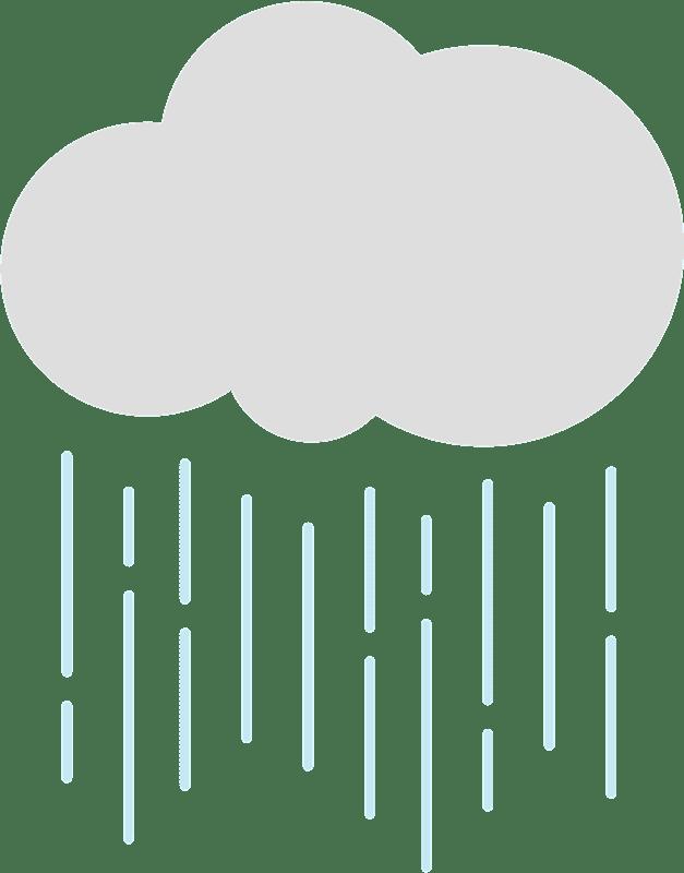 Rain clipart transparent for kid