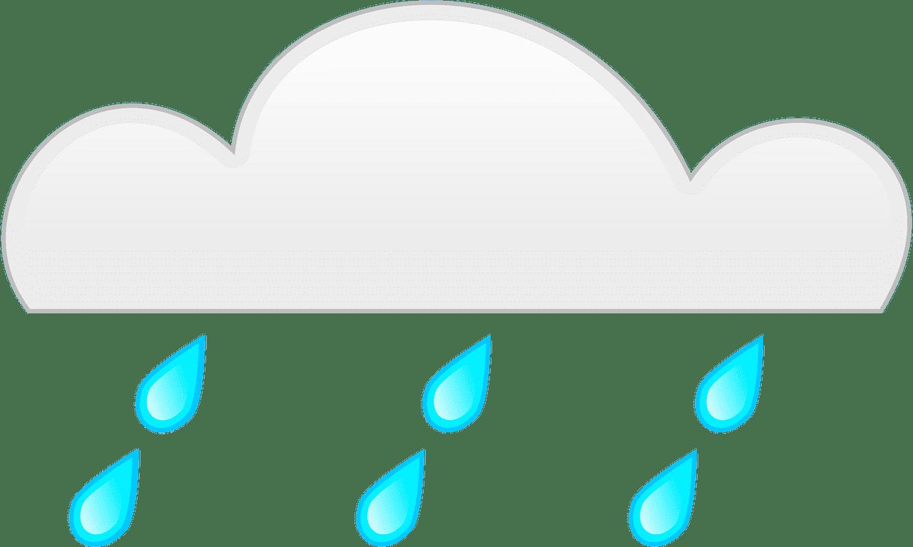 Rain clipart transparent image
