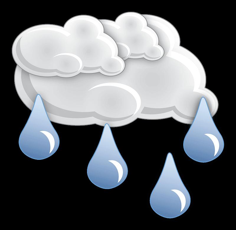 Rain clipart transparent images