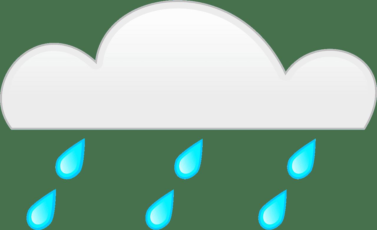 Rain clipart transparent picture