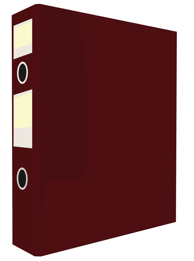 Red Folder clipart image