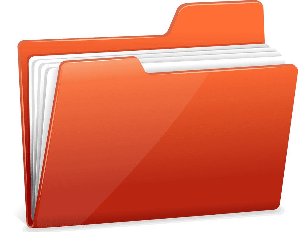 Red Folder clipart