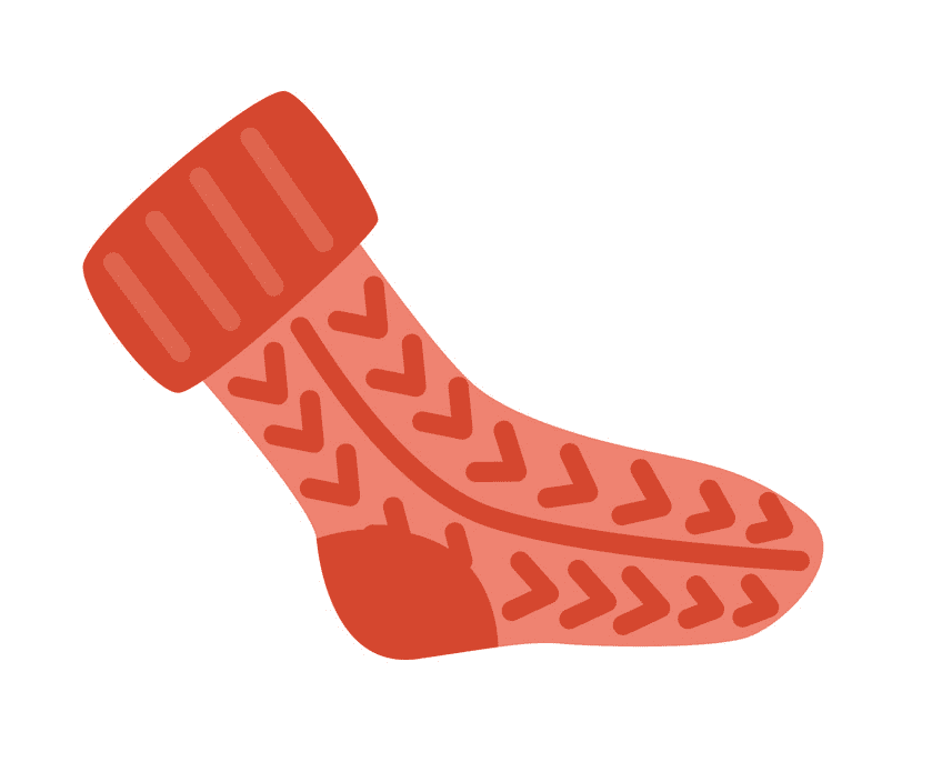 Sock clipart for free