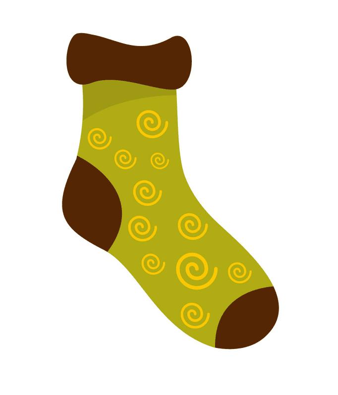 Sock clipart image