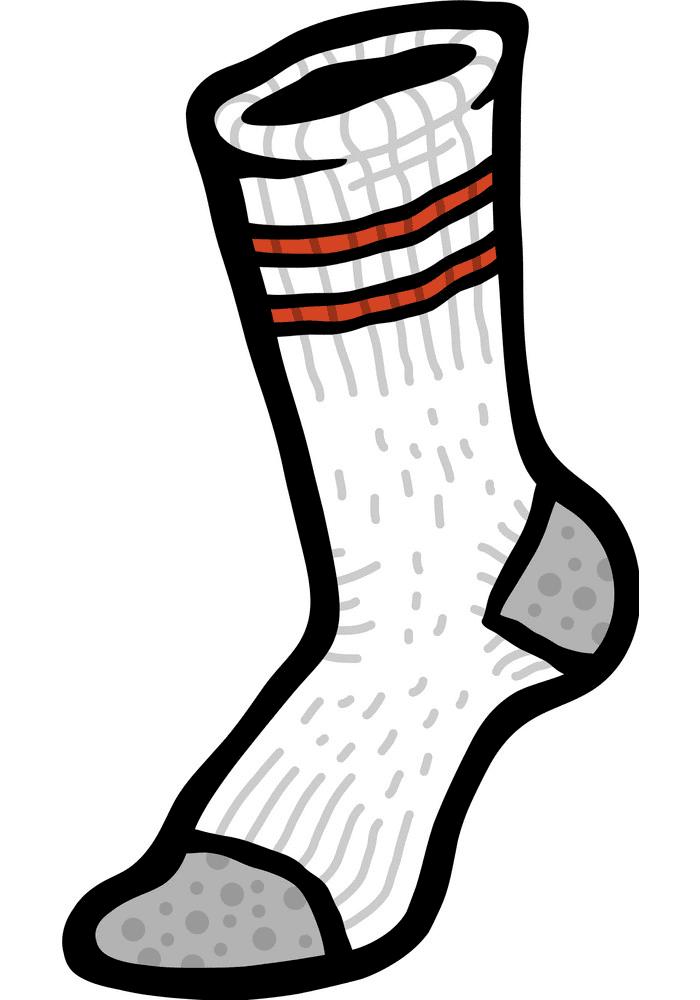 Sock clipart png