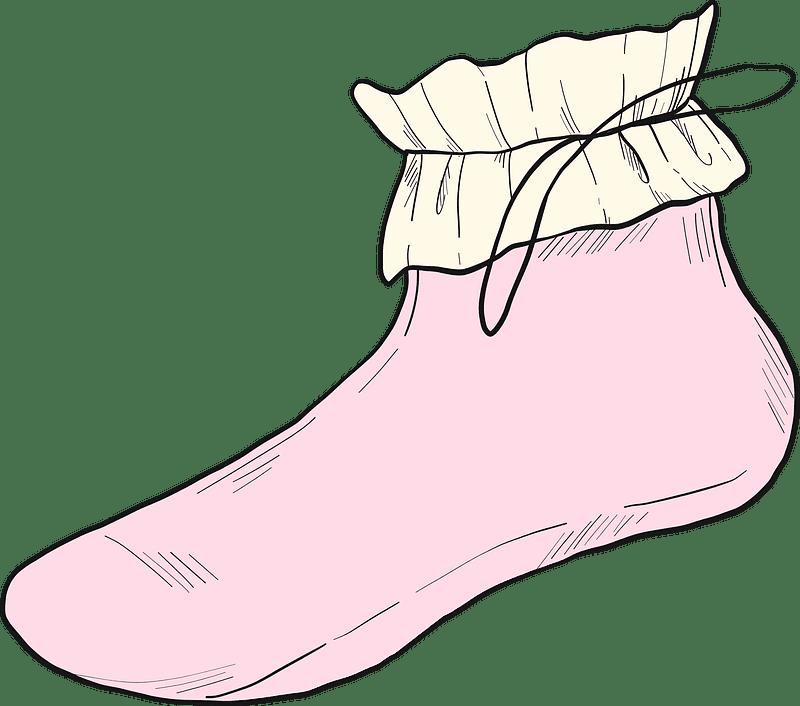 Sock clipart transparent