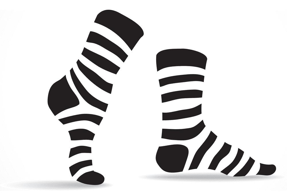 Socks clipart 4