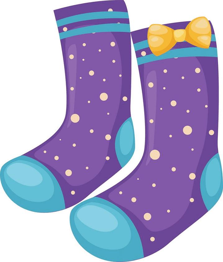 Socks clipart 6