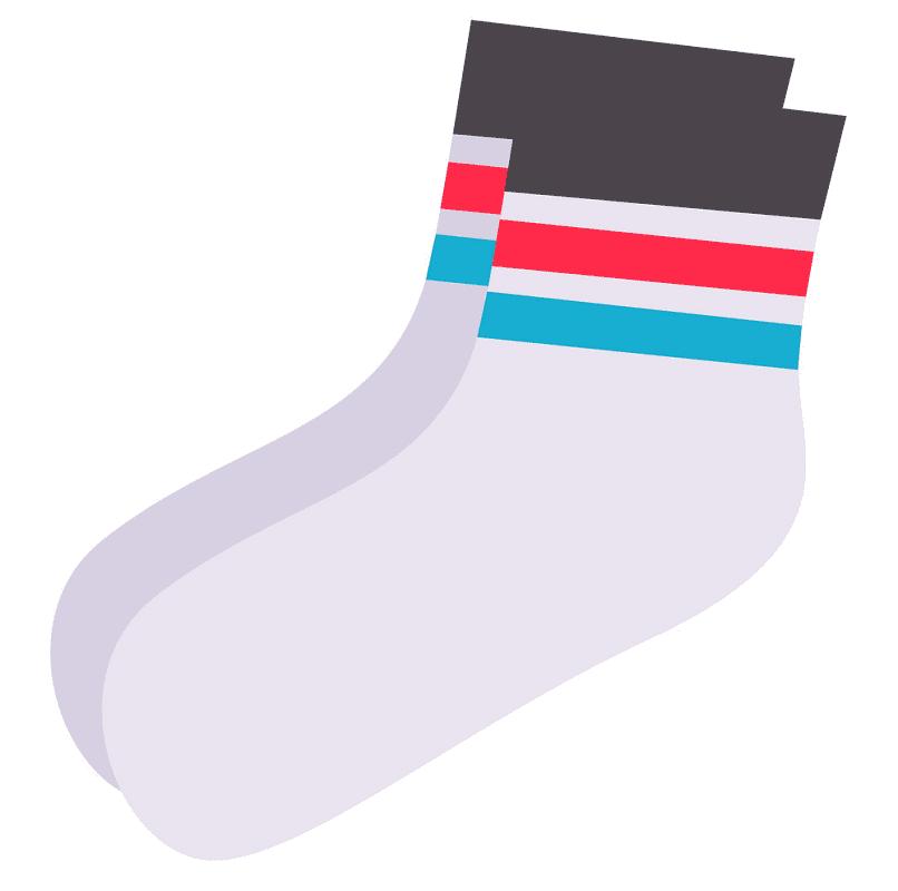 Socks clipart 7