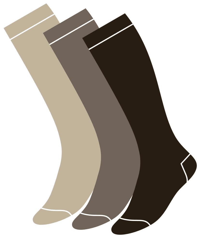 Socks clipart 8