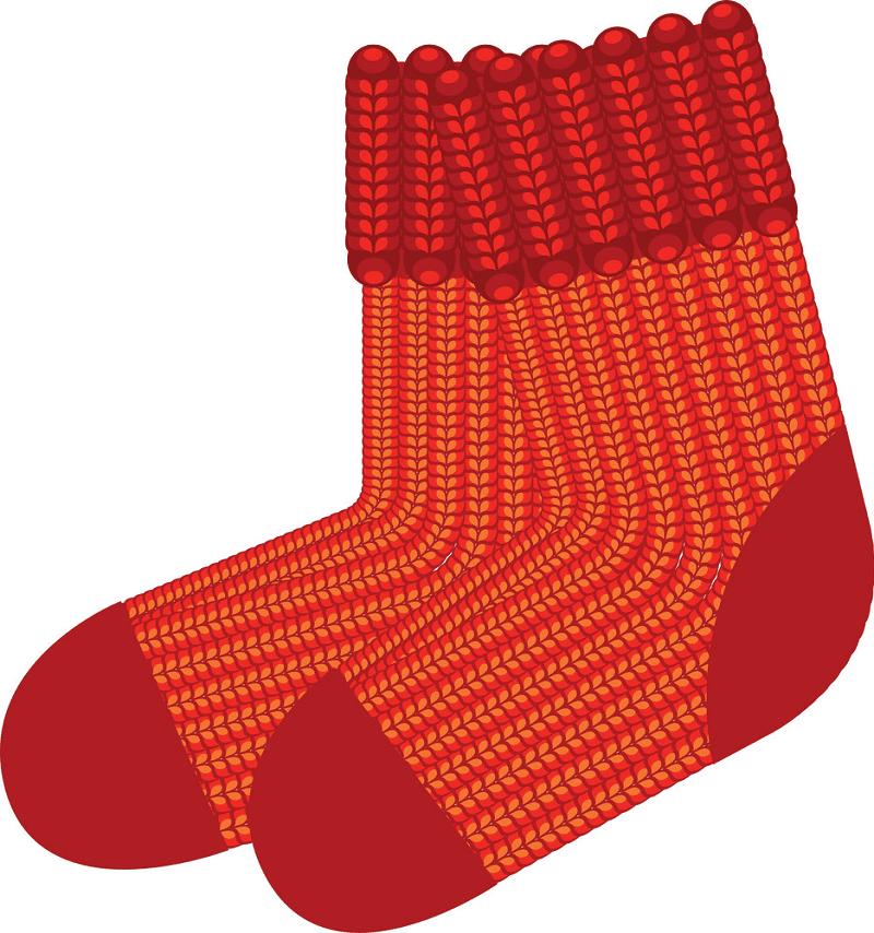 Socks clipart download
