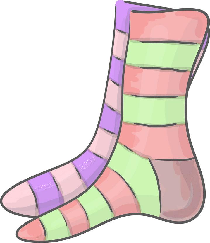 Socks clipart for kids