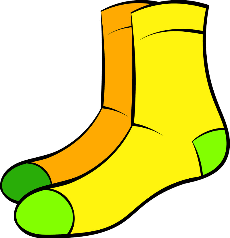 Socks clipart free 4