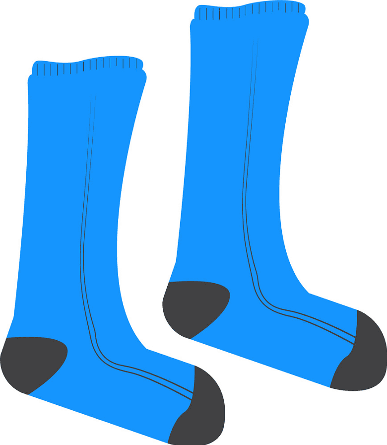 Socks clipart free images