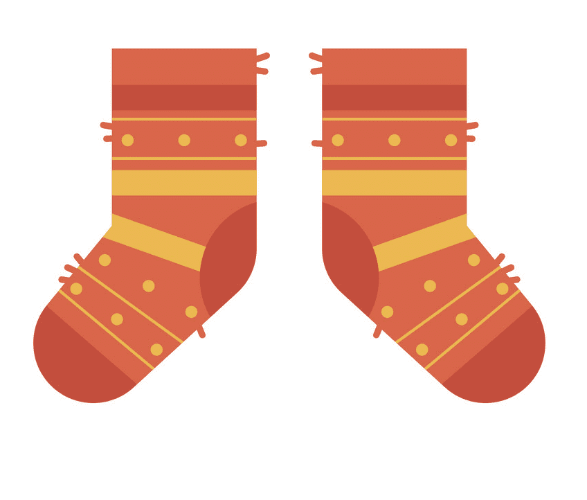Socks clipart free picture