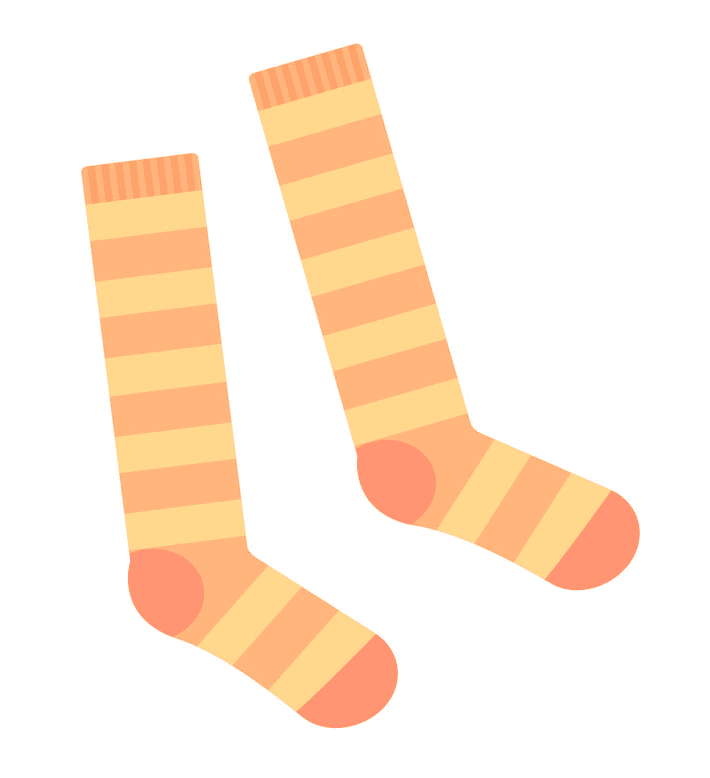 Socks clipart picture