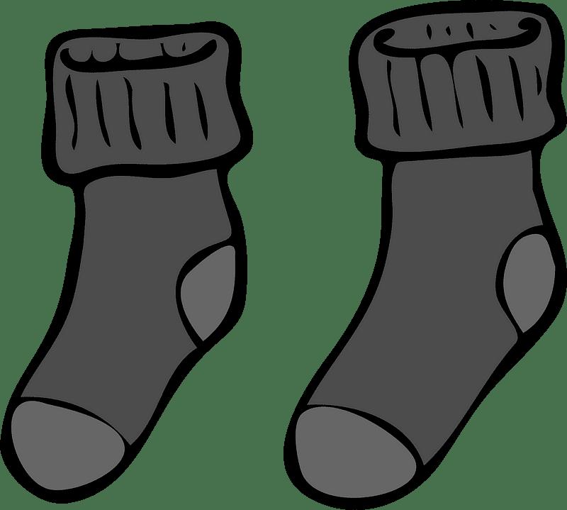 Socks clipart transparent 1