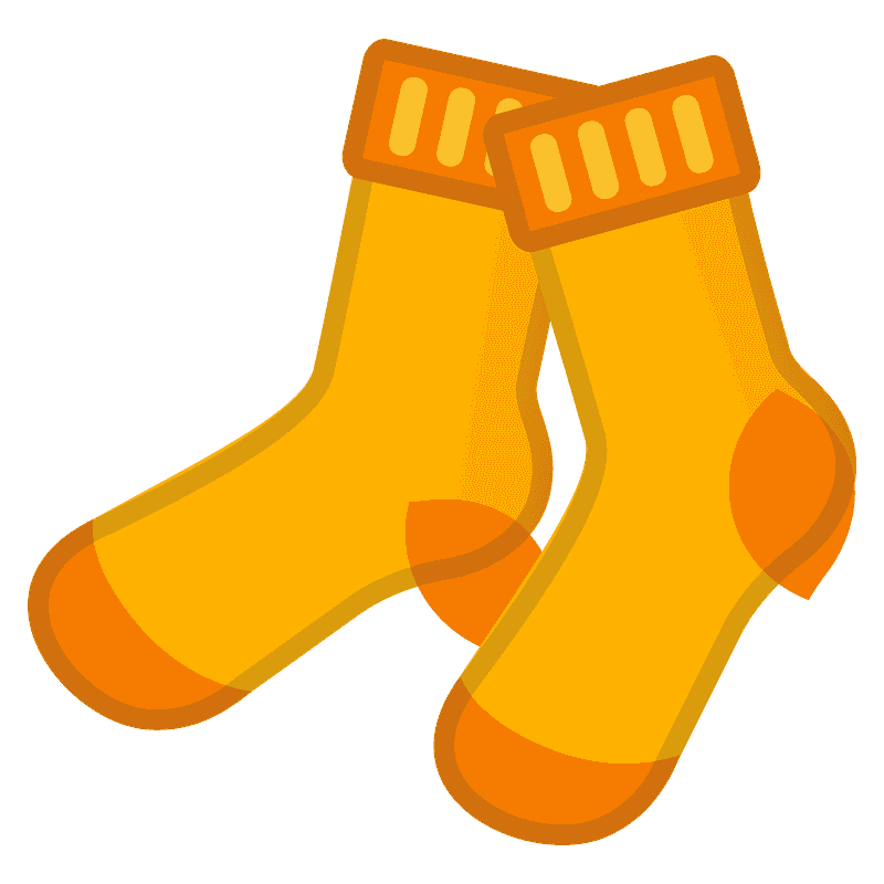 Socks clipart transparent 10