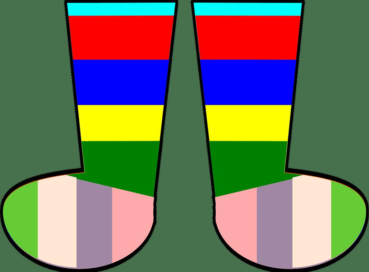 Socks clipart transparent 11