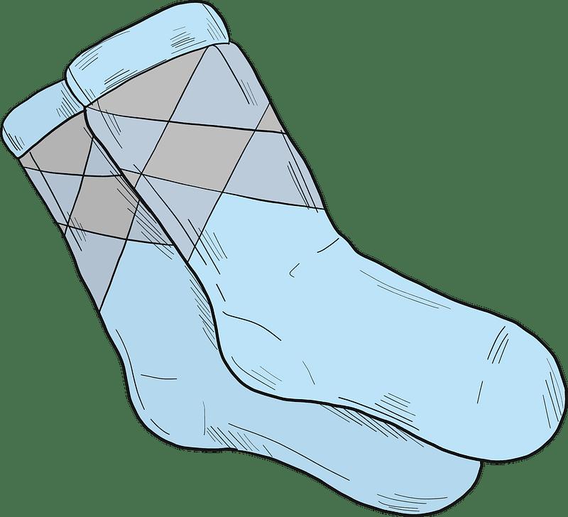 Socks clipart transparent 12