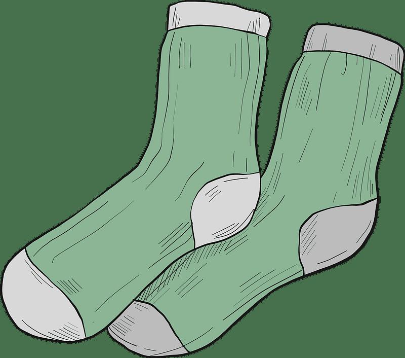 Socks clipart transparent 15