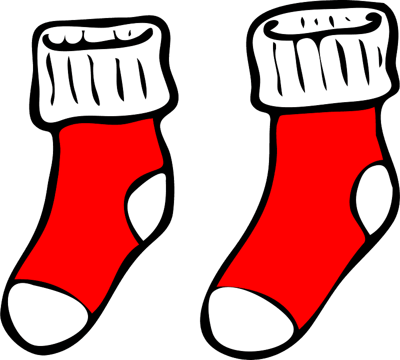 Socks clipart transparent 5