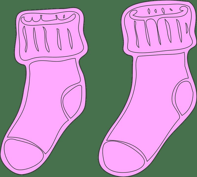 Socks clipart transparent 7