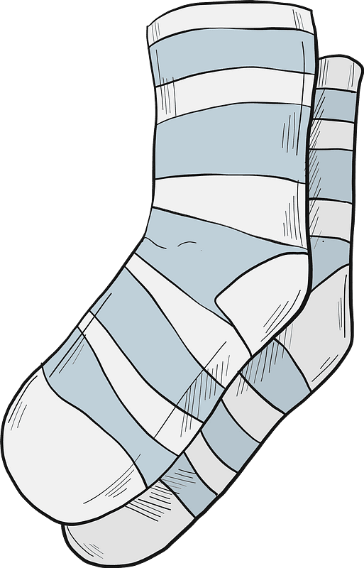 Socks clipart transparent background 1