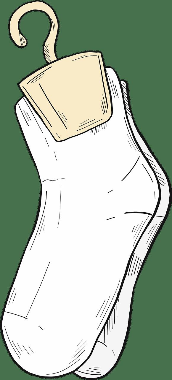 Socks clipart transparent background 2