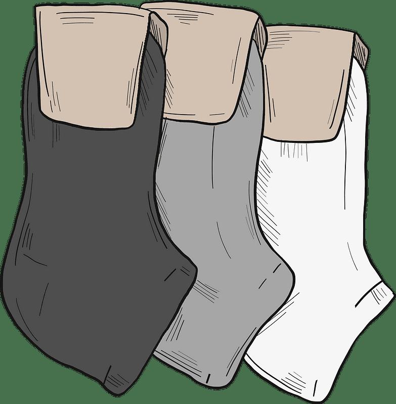 Socks clipart transparent for kid