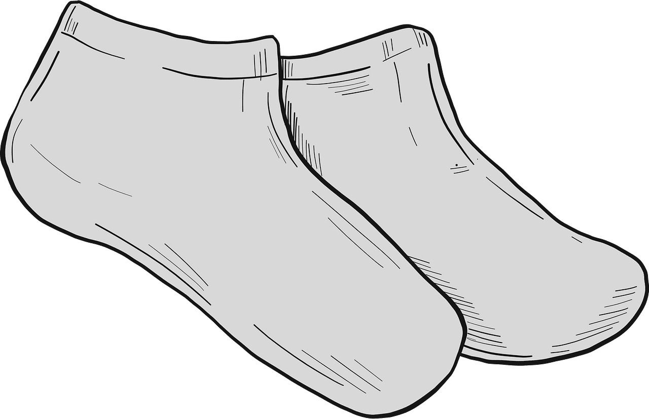 Socks clipart transparent for kids