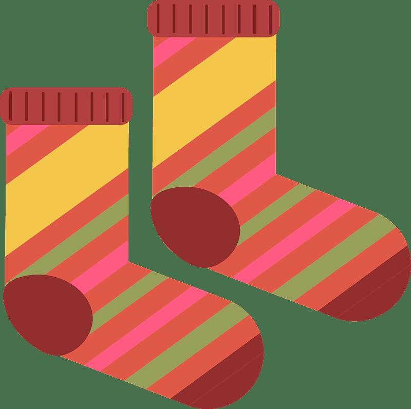 Socks clipart transparent images