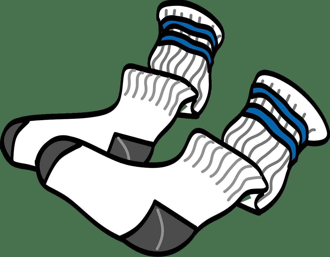 Socks clipart transparent