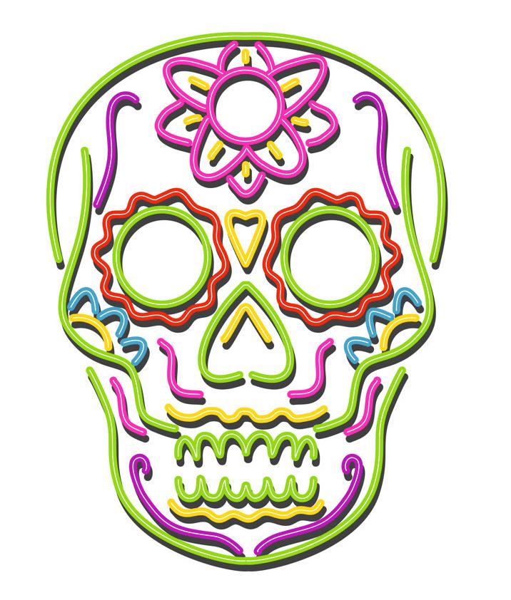Sugar Skull clipart 1
