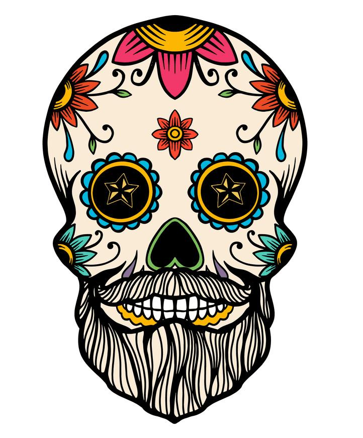 Sugar Skull clipart 2