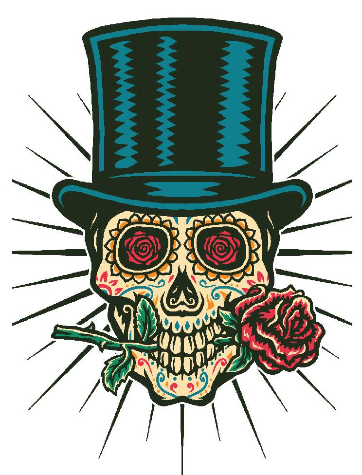 Sugar Skull clipart 6