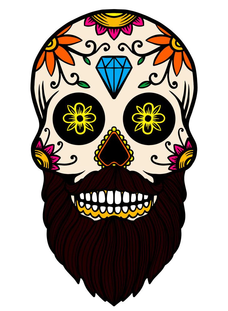 Sugar Skull clipart 7